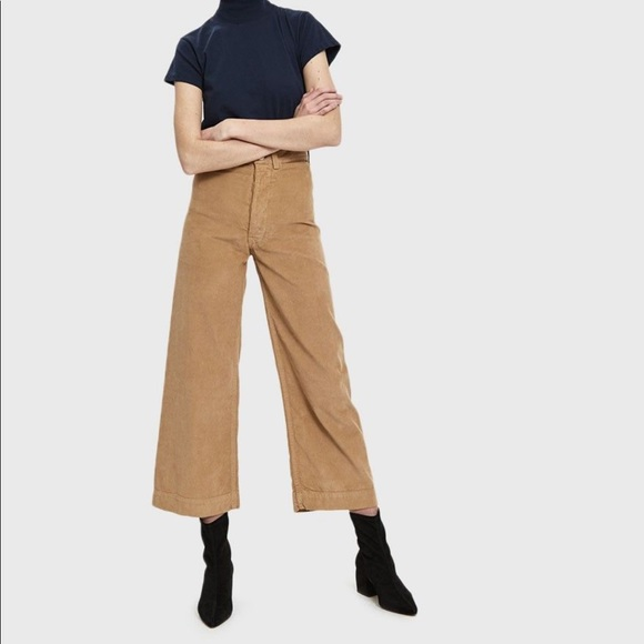 buy good stable quality new high quality Jesse Kamm Corduroy Sailor Pant in Palomino-Size 4